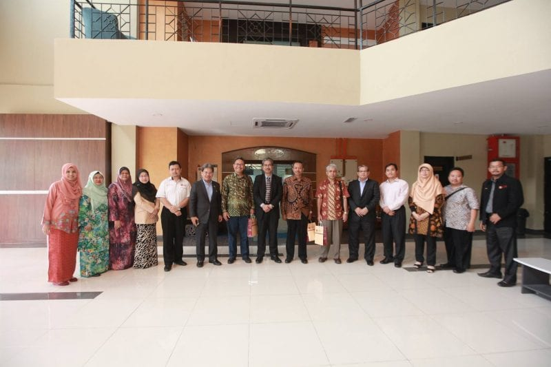 UTMLead received a visit from a delegation from UNIVERSITAS NEGERI MALANG INDONESIA