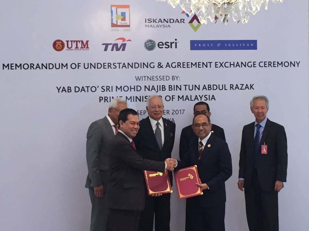 IRDA tubuh Kursi Profesor Iskandar Malaysia di UTM