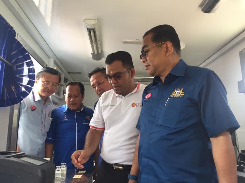 MB Johor saksi demonstrasi singkir logam berat dalam makanan laut
