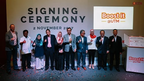 Boost partners with Universiti Teknologi Malaysia to create the