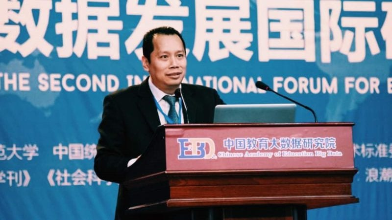 Faculty of Education  invited  as guest of honor  at  International Seminar on Education Big Data-Driven Education Reform in China
