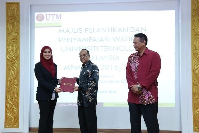 Noor Hanis wanita pertama dilantik Presiden MPMUTM