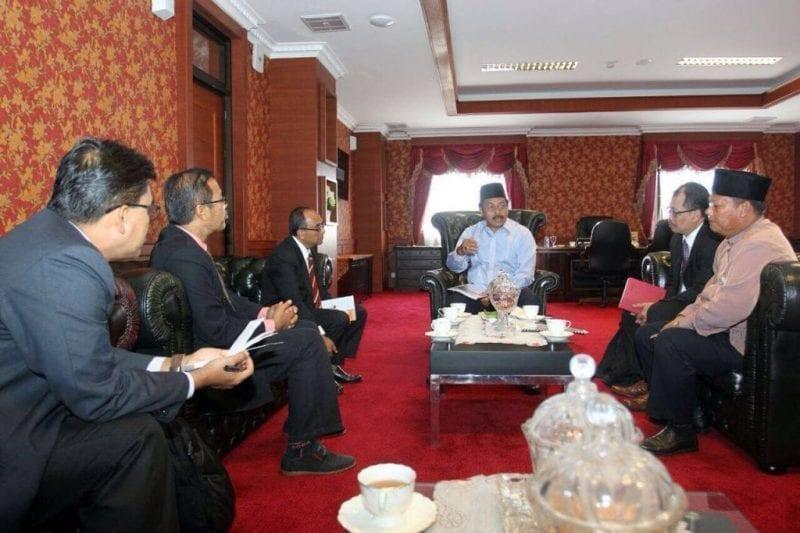 Naib Canselor kunjungi Wakil Gabenor KEPRI untuk erat kerjasama