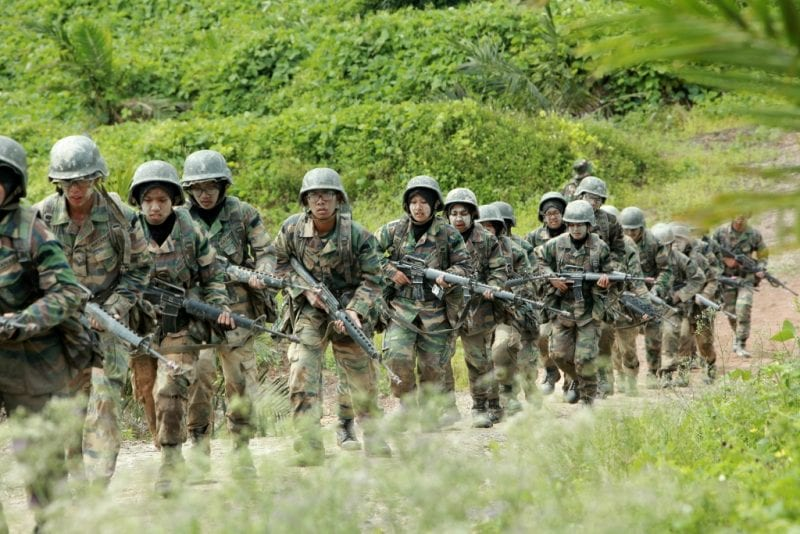 Komandan PALAPES UTM lawat latihan tahunan