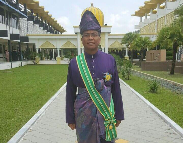 Tahniah Pendaftar UTM terima penganugerahan Darjah Sultan Ahmad Shah Pahang (DSAP)