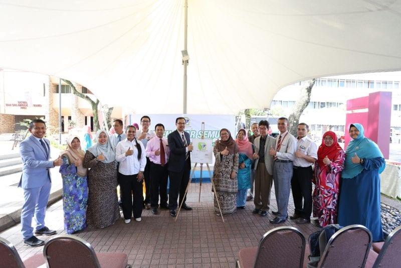 Kempen Kitar Semula UTM Kuala Lumpur  & Penyerahan Sikal Elektrik (SER1M)