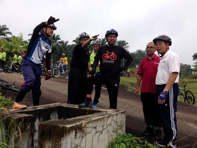 Datuk Seri Zaini dan NC UTM ketuai kayuhan sekitar kampus