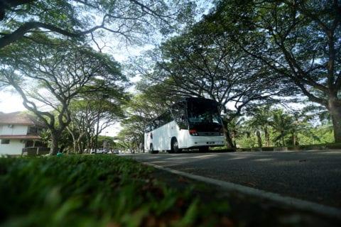 Kajian semula operasi bas dalam kampus guna kaedah matematik