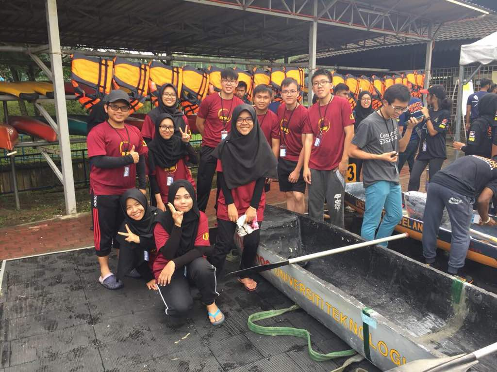 FKA Team won third place in Malaysian Canoe Concrete Competition 2017