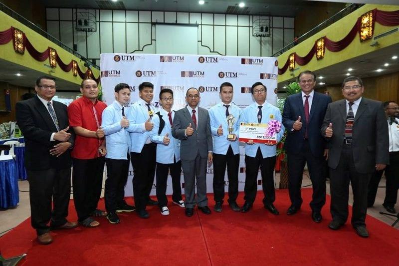 ITS dan SMK Bakong juara Pertandingan Reka Bentuk Model Jambatan 2017