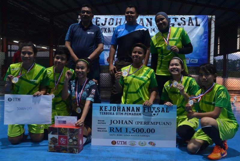 PEMADAM UTM anjur Kejohanan Futsal Terbuka UTM-PEMADAM 2016