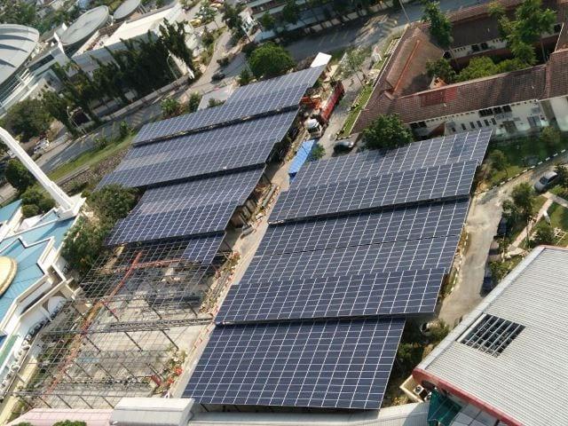Ladang solar UTM KL jana RM85 ribu setahun
