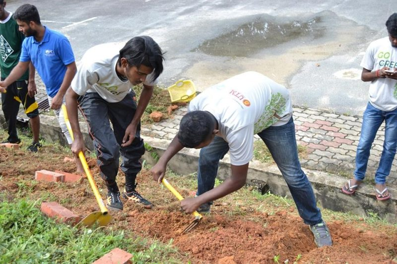 SPE Student Chapter organises plant seedlings