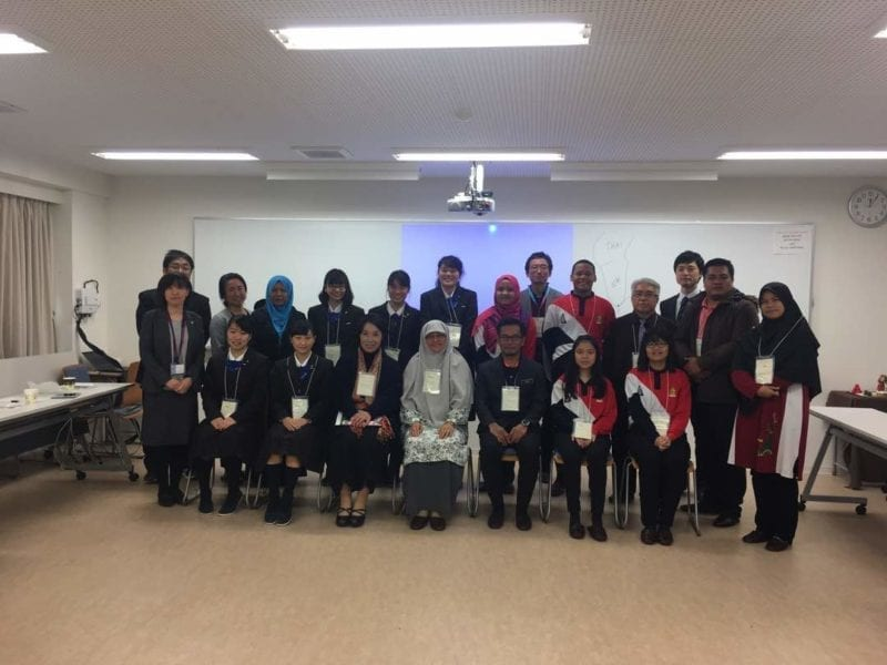 Prof Dr Khairiyah participating in in a study visit to Kyoto