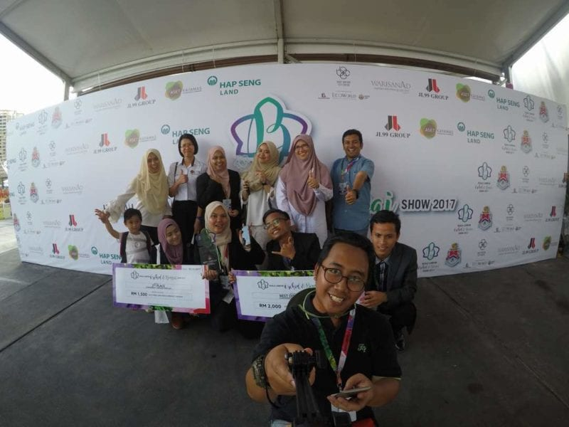 Landscape Architecture Students Won 1ST and 2nd Prize in Kuala Lumpur Orchids Competition