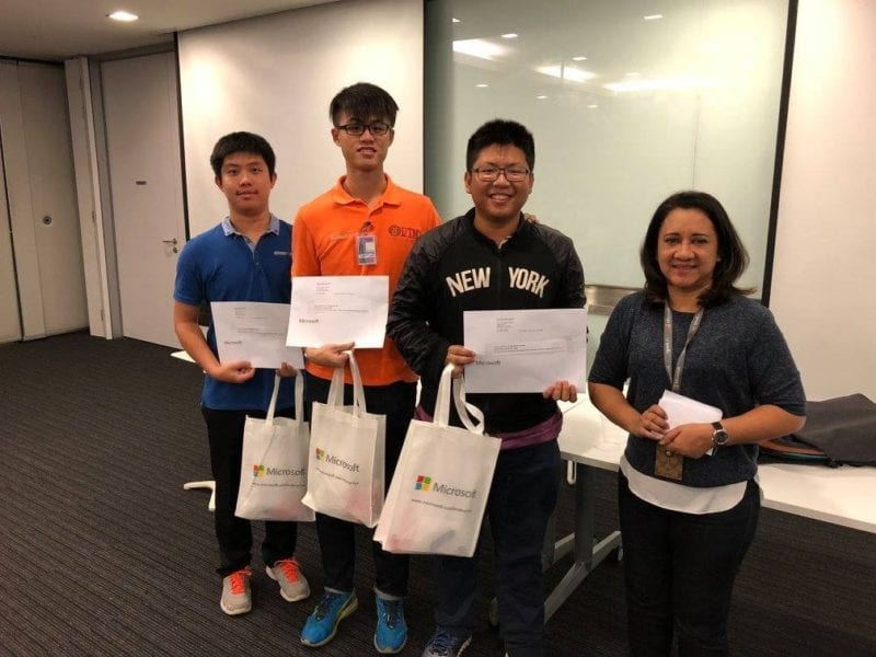 FKE Student Team ranked in the Top 2 of Imagine Cup Malaysia Pitch Day 2017
