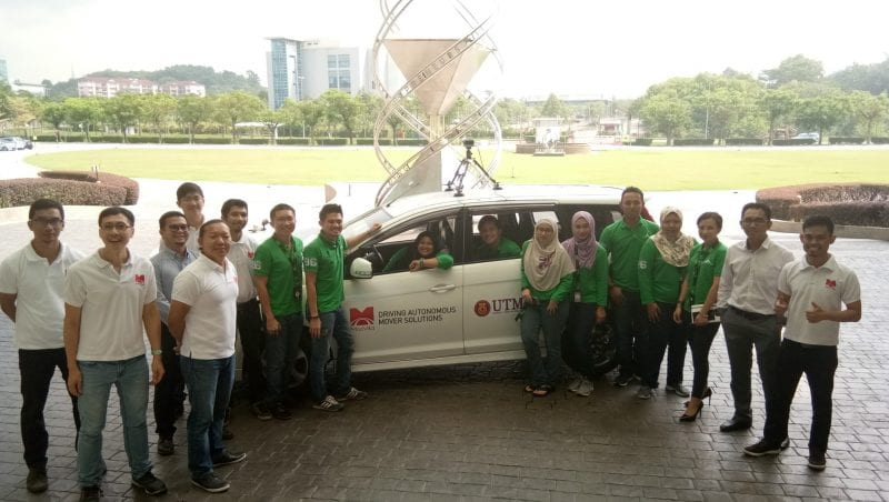 Universiti Teknologi Malaysia leading the Autonomous Driving R&D field resulting to 1st Demo in Malaysia.