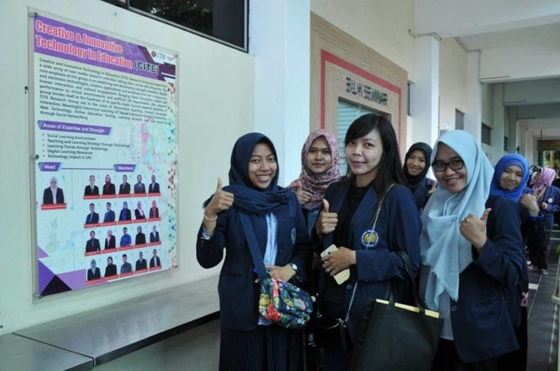 Study Visit Program from Universitas Negeri Surabaya Masters students to Faculty of Education UTM