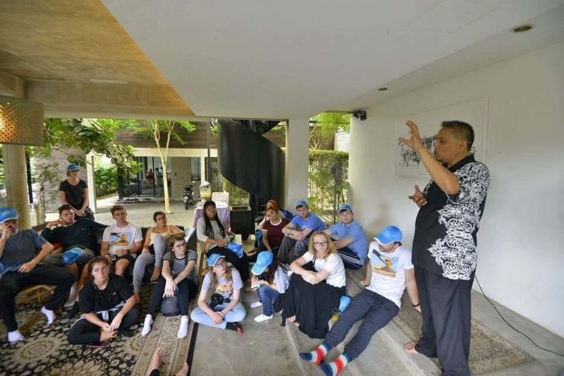 31 architectural students from KU visits Malaysia
