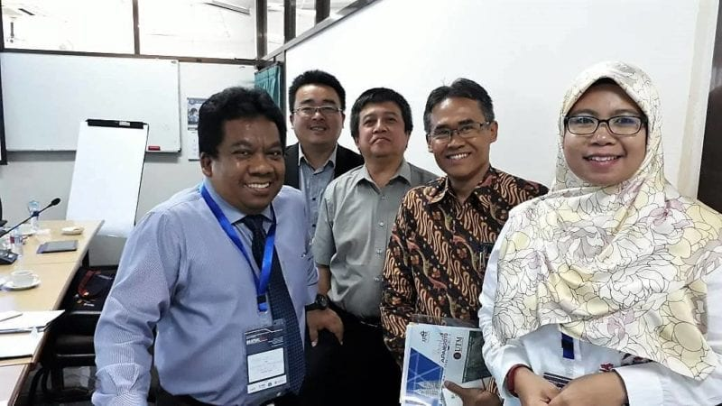 Two representing UTM to the 12th SEATUC Meeting and Symposium in Yogyakarta