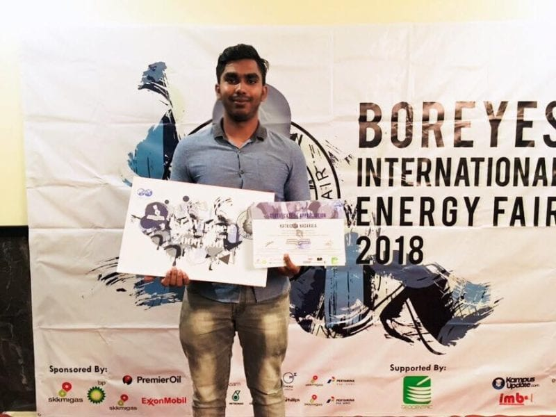 FKT Student wins in BOREYES International Energy Fair 2018