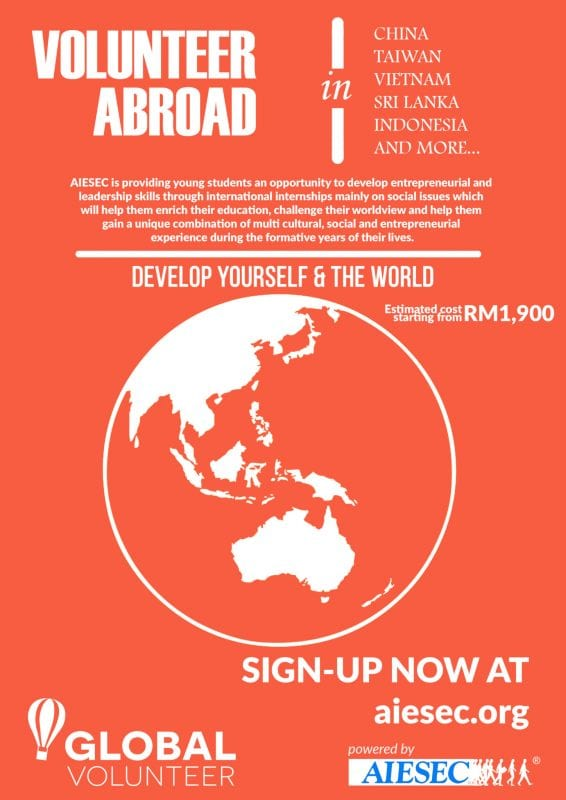 Volunteer Abroad with AIESEC
