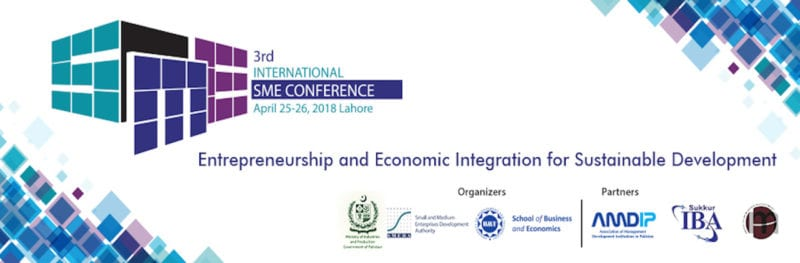 3RD INTERNATIONAL SME CONFERENCE