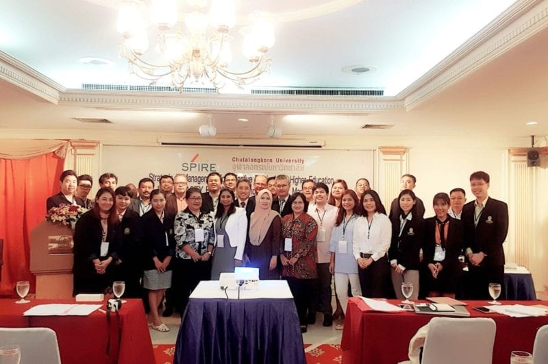 UTM attends Erasmus+ SPIRE Project Capacity Building Training on IP Management at Chulalongkorn University