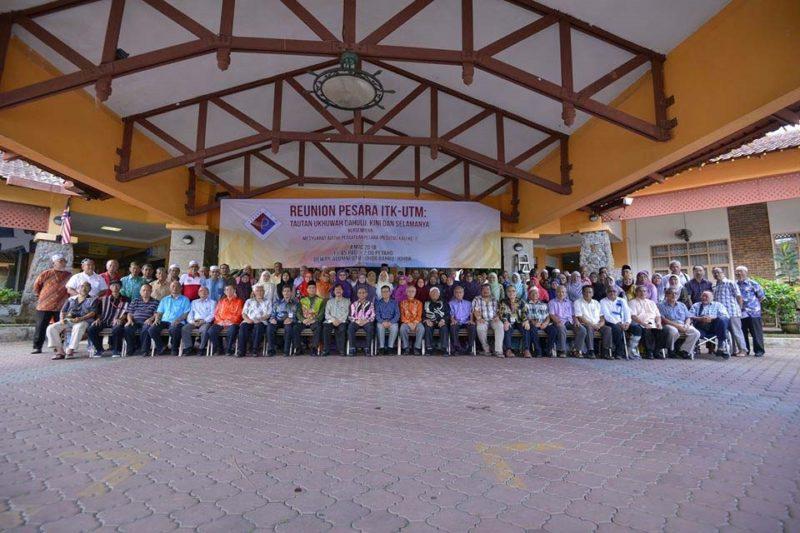 200 bekas kakitangan hadiri Majlis Reunion Pesara UTM-ITK