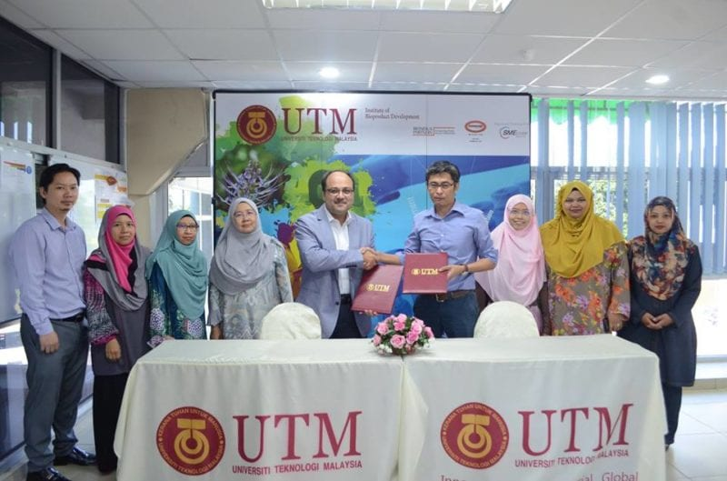 UTM IBD And Enaq Sauce Sdn Bhd To Collaborate On Proprietary Fermentation Process For The F&b Industry