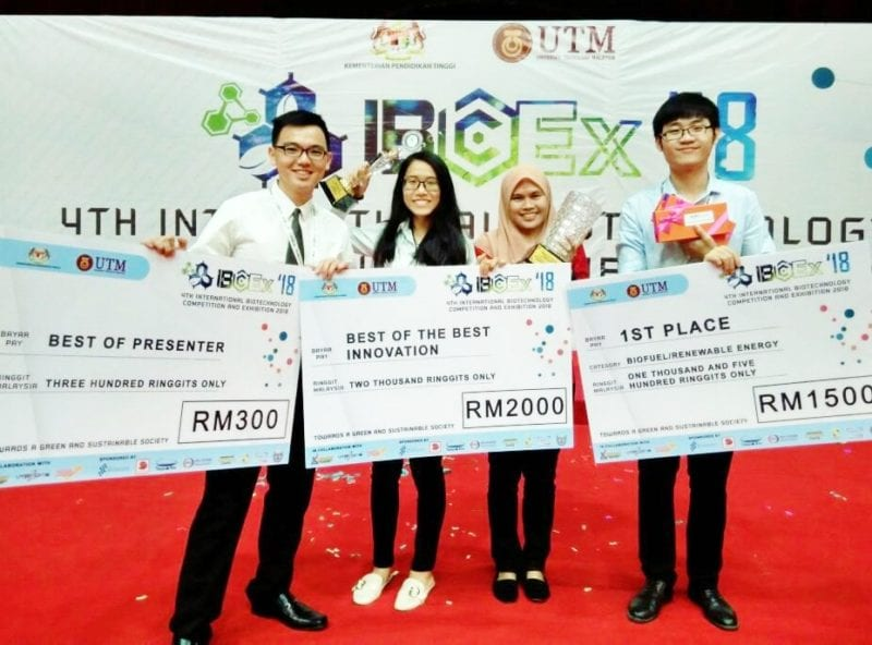 Dr. Zanariah's Team From FoBERG Won Outstanding Awards at IBCEx 2018