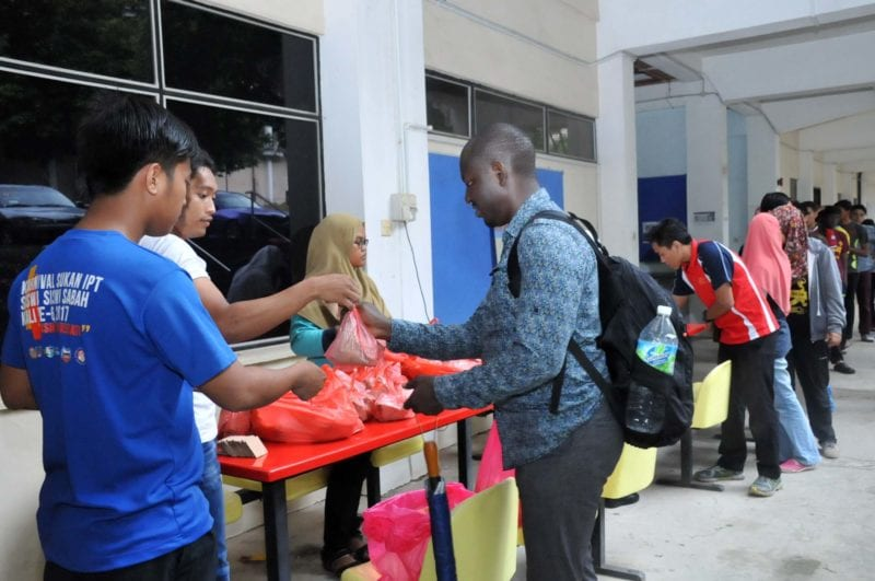 Faculty of Education Organized Free Meal Project
