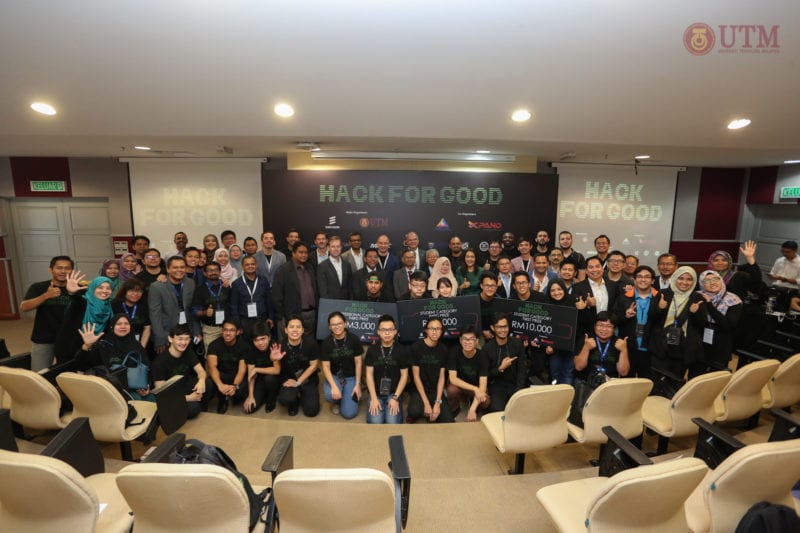 UTM, Ericsson, AXIATA Xpand & MCMC Pick The Winners of 'Hack for Good' – Malaysia's First Narrow Band IoT Hackathon
