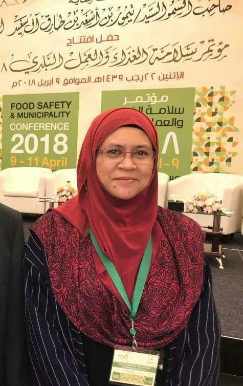 Prof Dr Ida Idayu Muhamad From FoBERG Invited As The Keynote Speaker In The Food Safety & Municipality Conference 2018 (FSMC 2018) At Muscat, Oman
