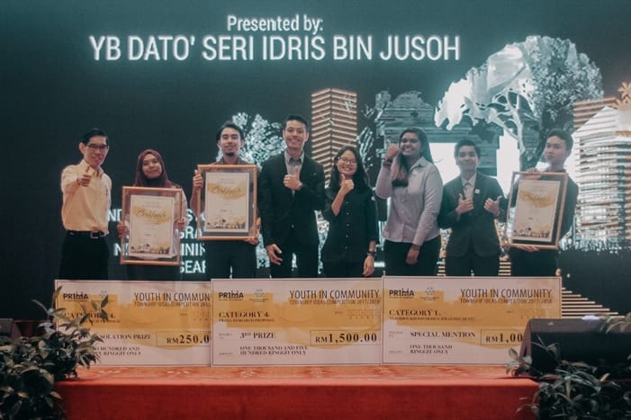 UTM Urban and Regional Planning Students and Staff Received Awards in 2017/2018 PR1MA-MIP Township Ideas Competition in Kuala Lumpur