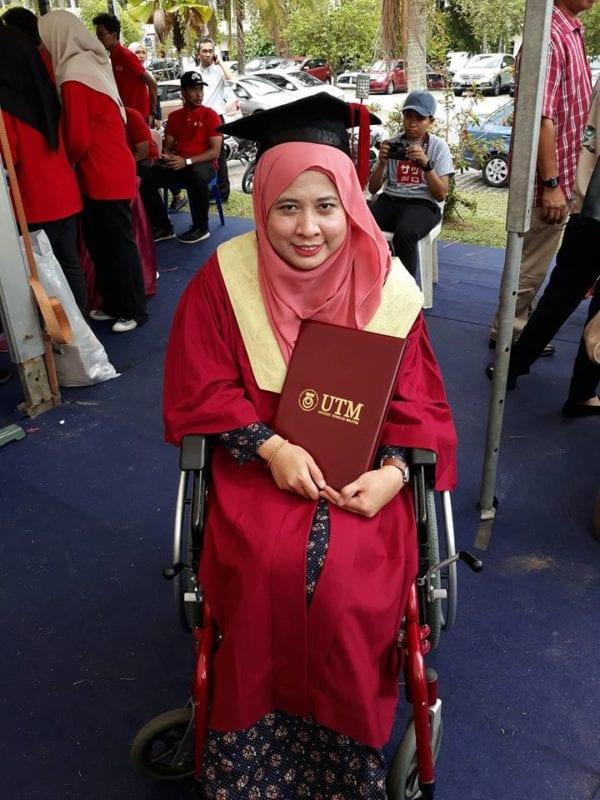 Konvo UTM ke-60: Kecacatan tidak halang perolehi ijazah