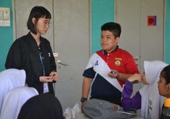 how to encourage students to speak english