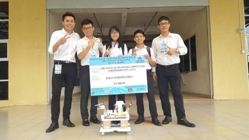 FKT Students Win Oil Rig Design Competition
