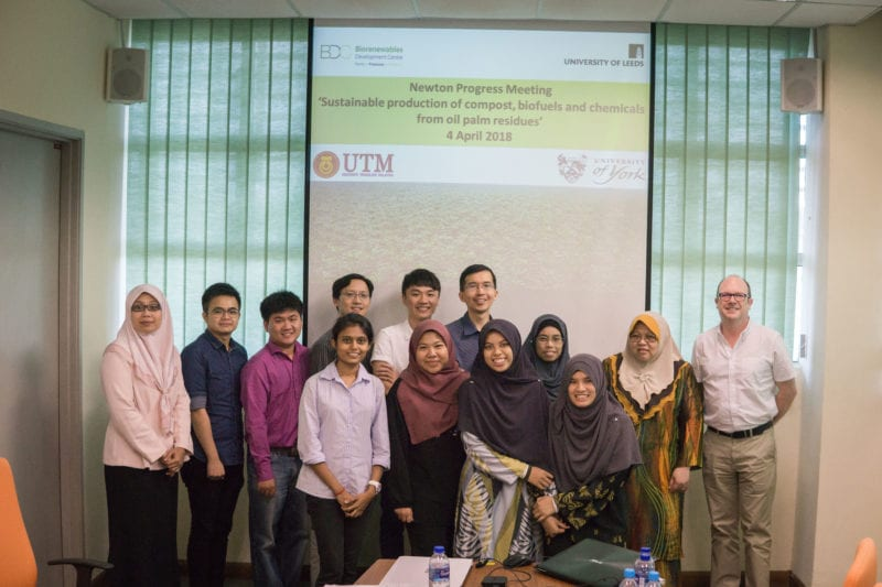 Newton Fund (UK-SEA-NUOF) Progress: A Workshop between University of York, UK and UTM