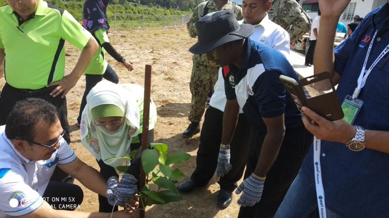 International Education Peace Camp and Eco-Volunteerism Program : UTM Introduces Innovation in Tagging and Monitoring Trees