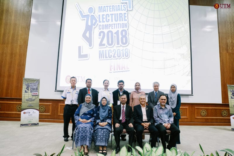 UTM Student Announced First Runner-up of National Material Lecture Competition 2018 Finals