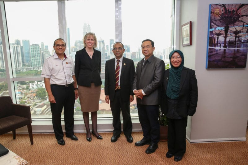 University of Bradford, UK and University of Southampton Malaysia Campus Visit UTMKL