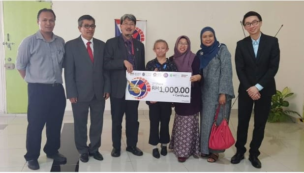 UTM Postgraduate Student announced first runner- up of 2018 Malaysia Three Minute Thesis (3MT) Competition in Universiti Teknologi Petronas