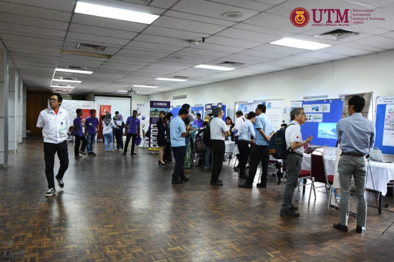 Malaysia-Japan International Institute of Technology (MJIIT) offers opportunities to prospective graduates through Fourth Career Fair