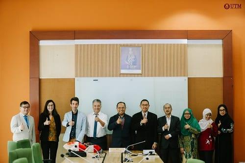 President of Franche-Comte University  Visits UTM Kuala Lumpur