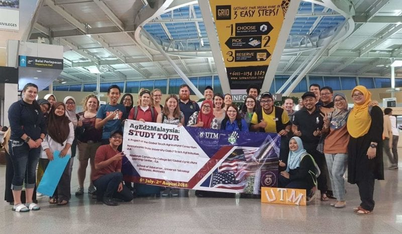 The School of Education, UTM hosted USA scholars for Global Teach Agriculture to Malaysia, #AgEd2Malaysia