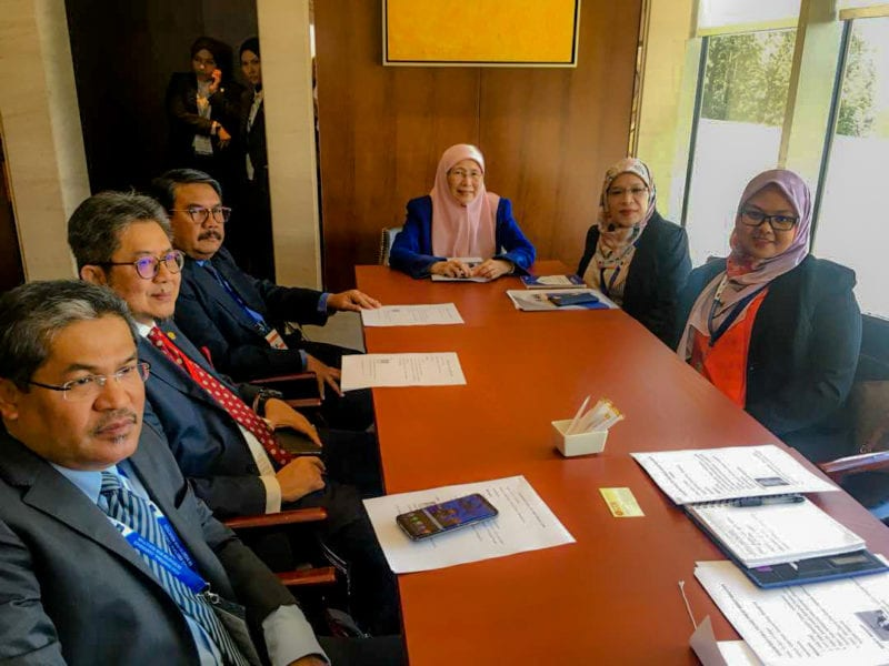UTM's participation in the Asian Ministerial Conference on Disaster Risk Reduction (AMCDRR) in Ulaanbaatar, Mongolia with Deputy Prime Minister Datuk Seri Dr. Wan Azizah Wan Ismail