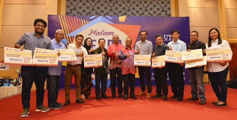 Empat agensi Media Prima Berhad ungguli Anugerah Media UTM