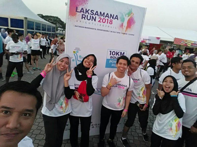 38 peserta UTM sertai Laksamana Run 2018