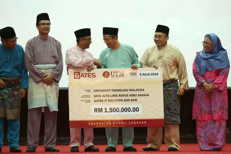 UTM Terima Geran Penyelidikan Kontrak bernilai RM2.5 juta